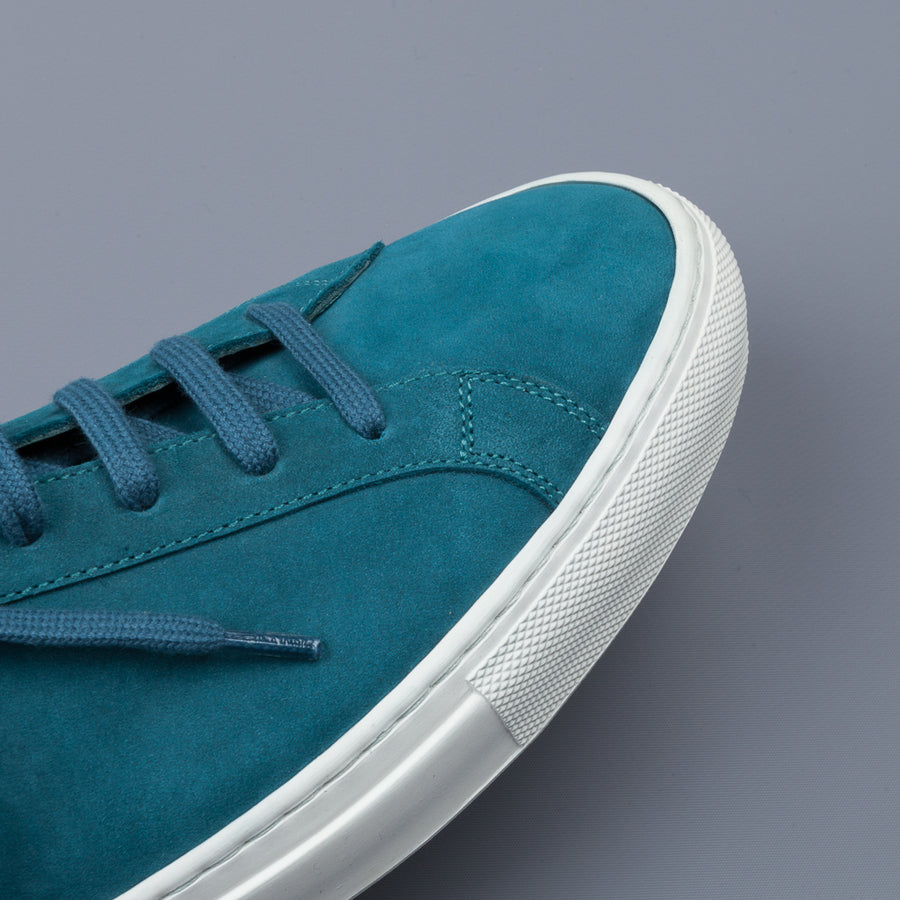 Common Projects Original Achilles 1780 nubuck low blue