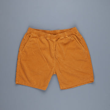 Remi Relief Light Summer Corduroy Easy Shorts Mustard