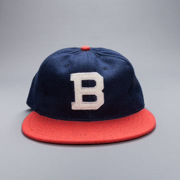 Ebbets field flannels Brooklyn Bushwicks 6 panel strap back cap