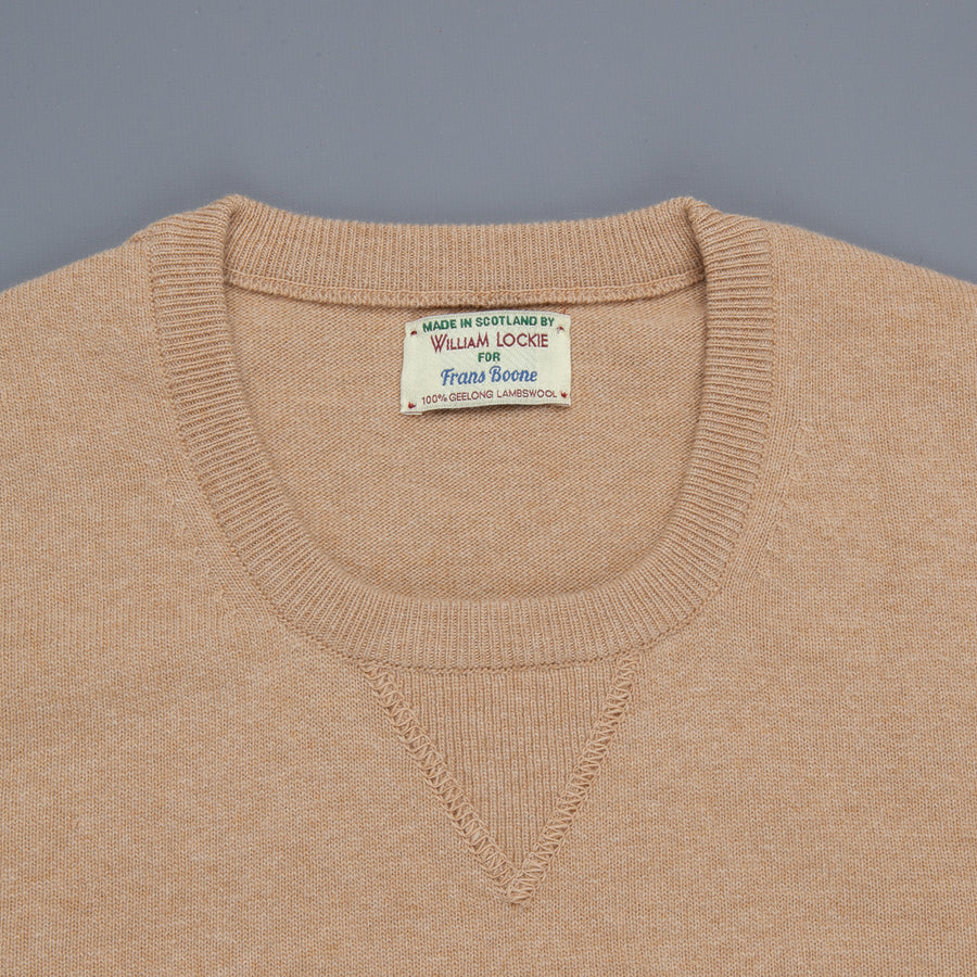 William Lockie x Frans Boone Super Geelong Vintage fit sweater Sandstorm