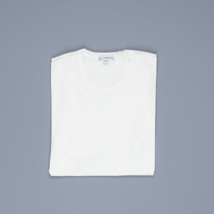 James Perse Crew Neck Tee Everest White