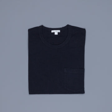James Perse Crew Neck Pocket Tee Deep