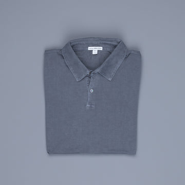 James Perse Revised Standard Polo Gravel