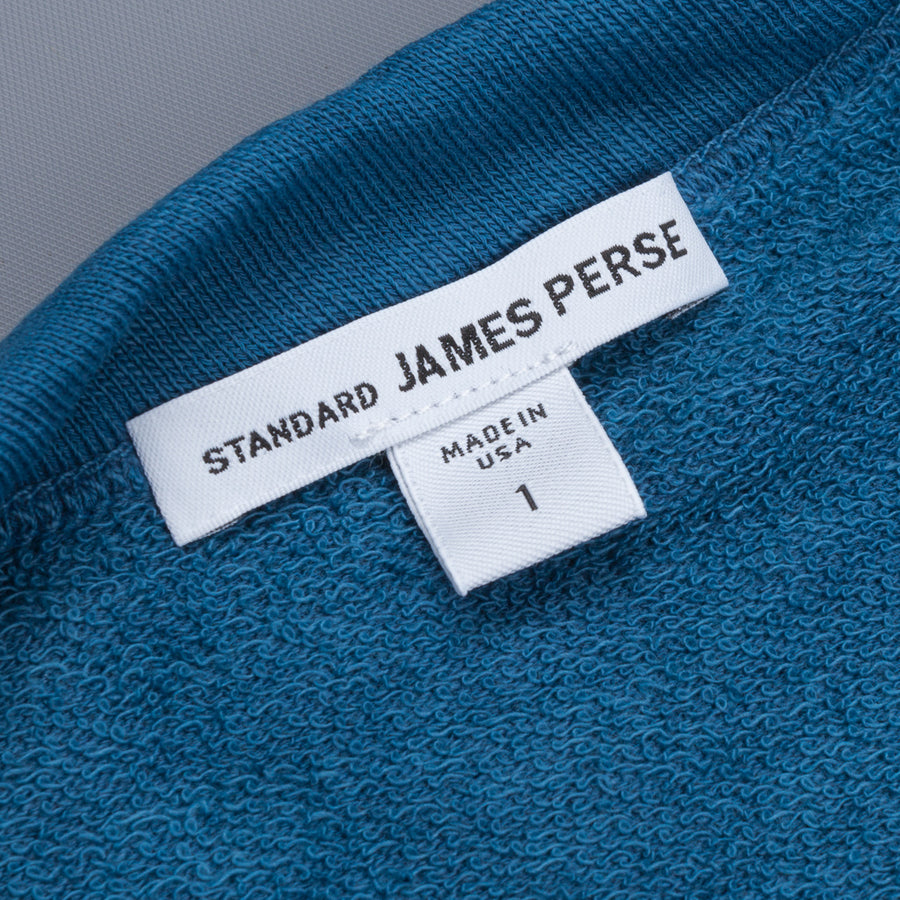 James Perse Vintage Fleece Raglan Sweat Sterling