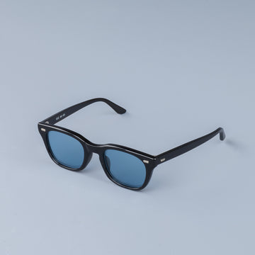 The Real McCoy´s USS Celluloid Frame Sunglasses blue