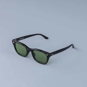The Real McCoy´s USS Celluloid Frame Sunglasses green