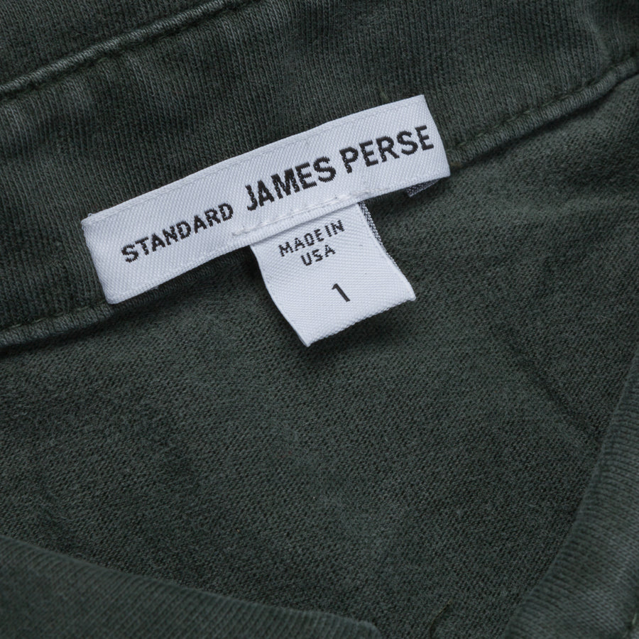 James Perse Revised Standard Polo Marsh