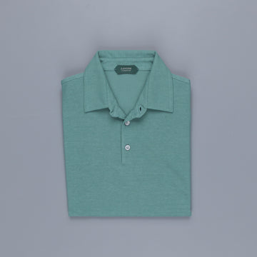 Zanone Polo MC Crepe Cotton Jungle