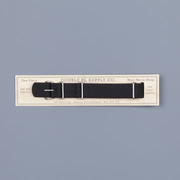RRL Watchstrap Polyster Black