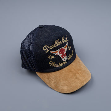 RRL Corduroy Denim Trucker Cap
