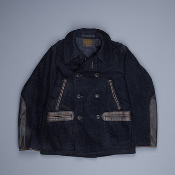 RRL Limited Edition Corduroy Peacoat Indigo