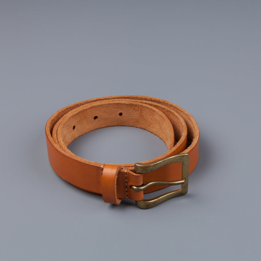 Simonnot Godard X Frans Boone belt Cuoio Dakota lavato natural