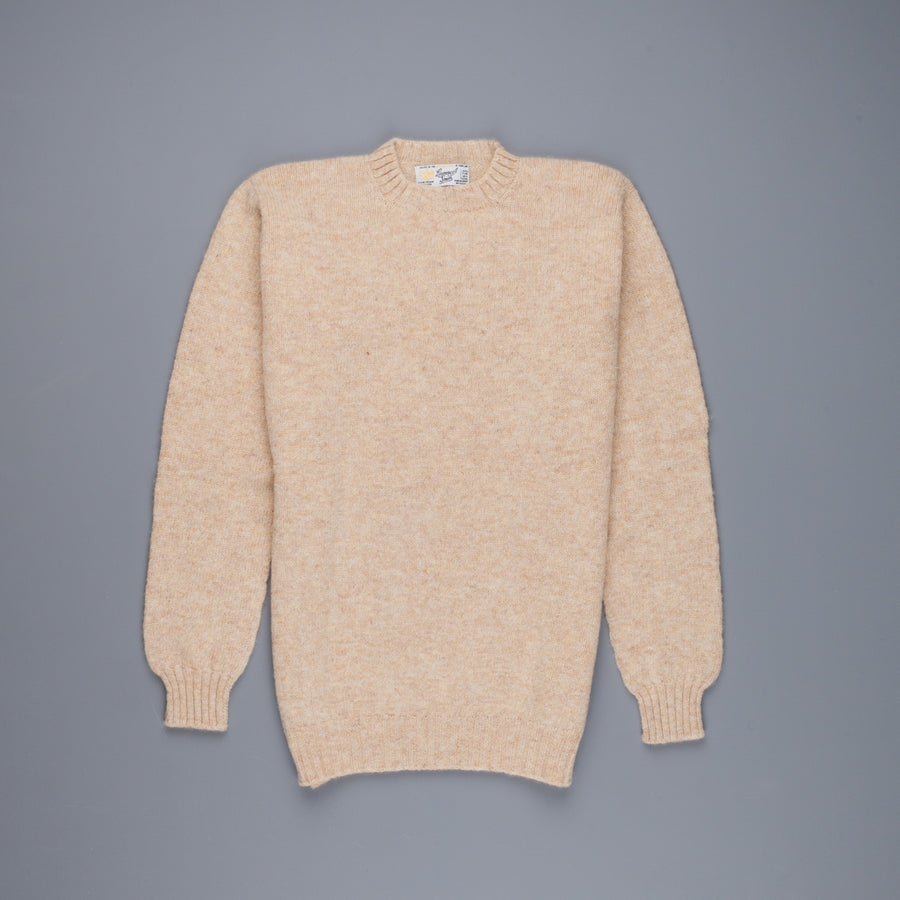 Laurence J. Smith Super soft Seamless Crew Neck Pullover Tusk