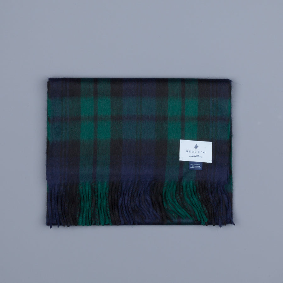 Alex Begg Jura Lambswool Scarf Original Black Watch