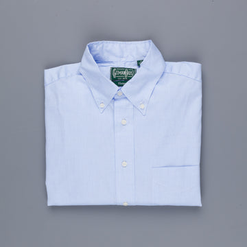 Gitman Vintage Button-Down Shirt Extrafine Oxford Blue