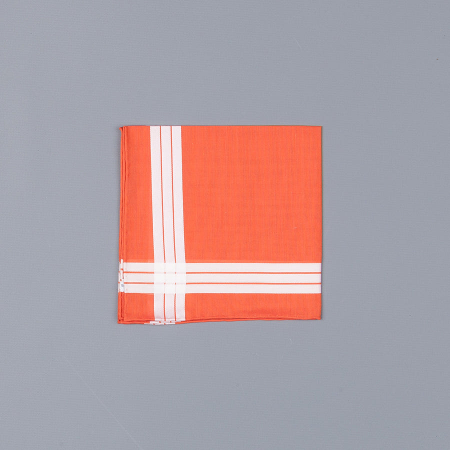 Simonnot Godard Adelie mouchoir orange
