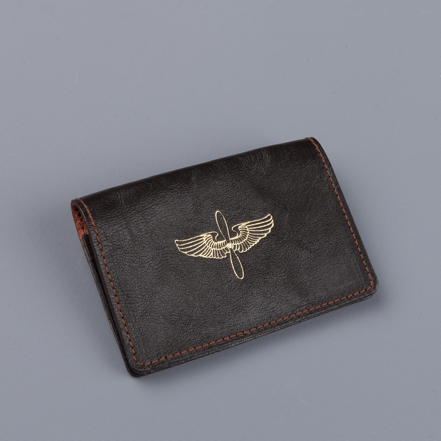 The Real McCoy's Card Holder Seal Brown AAC