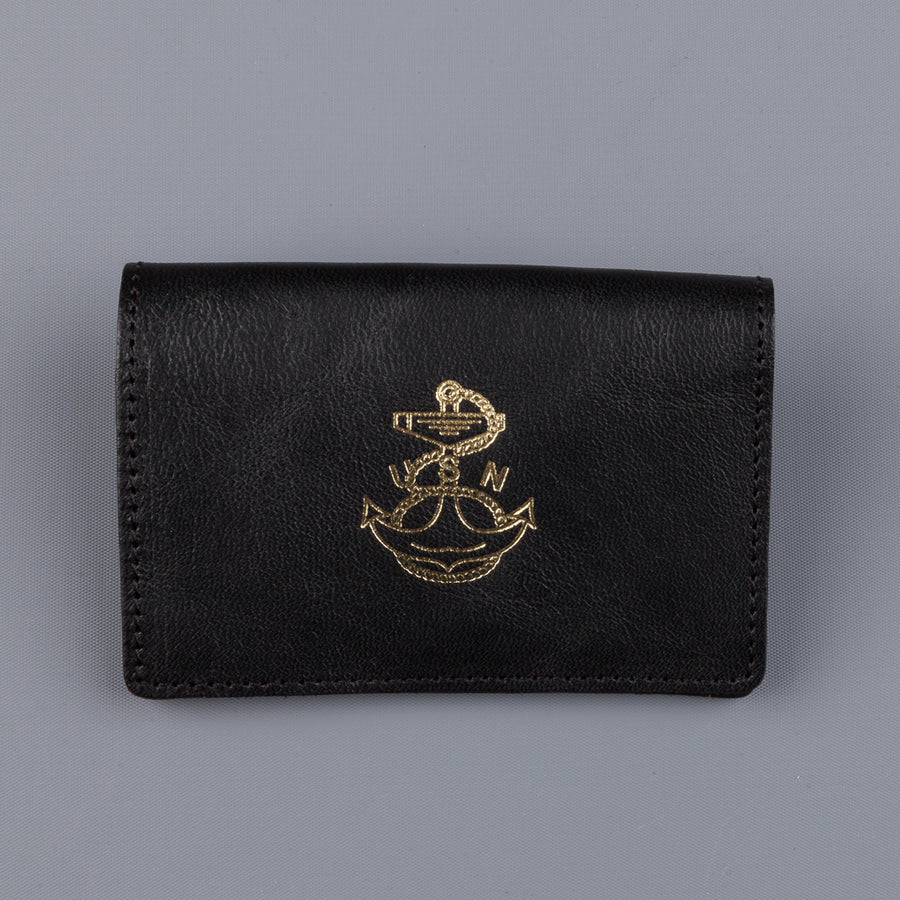 The Real McCoy's Card Holder Rough Brown USN