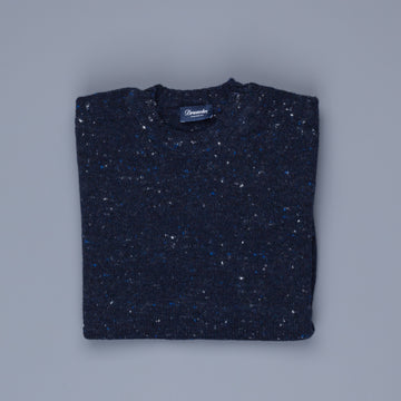 Drumohr Sherwood Crew Neck Donegal Navy