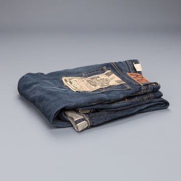 RRL jeans low straight Brooks wash