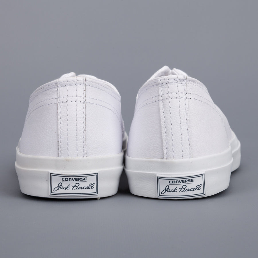 Converse Jack Purcell Ox Premium Leather White