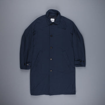 Aspesi MP Lined Raincoat Navy