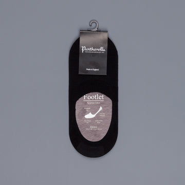 Pantherella Footlet Socks Black