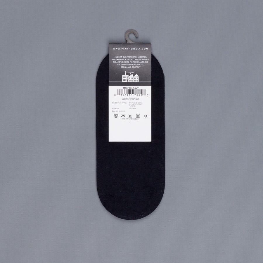 Pantherella Footlet Socks Navy