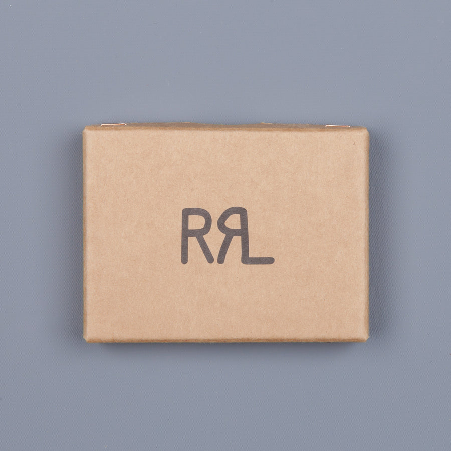 RRL Vertical Card Wallet in Haircalf