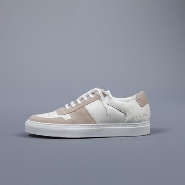 Common Projects BBall Premium White Leather & Suede