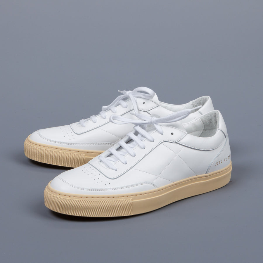 Common Projects Ressort Classic White Vintage Sole