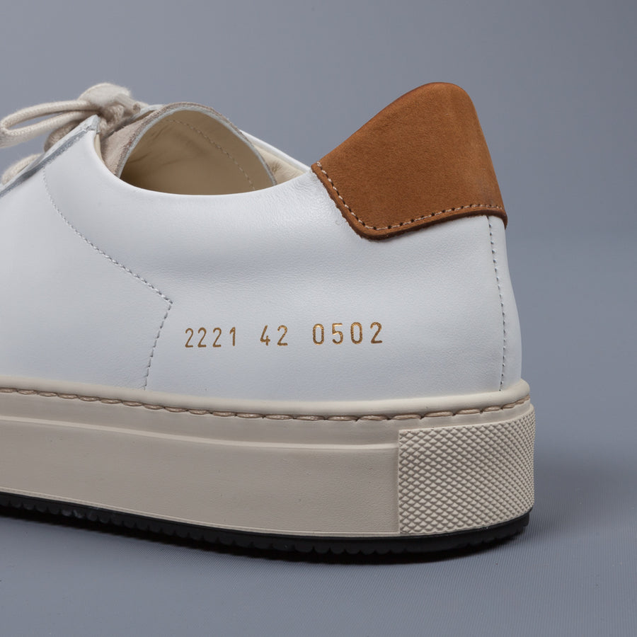Common Projects Retro Low Special Edition White & Tan
