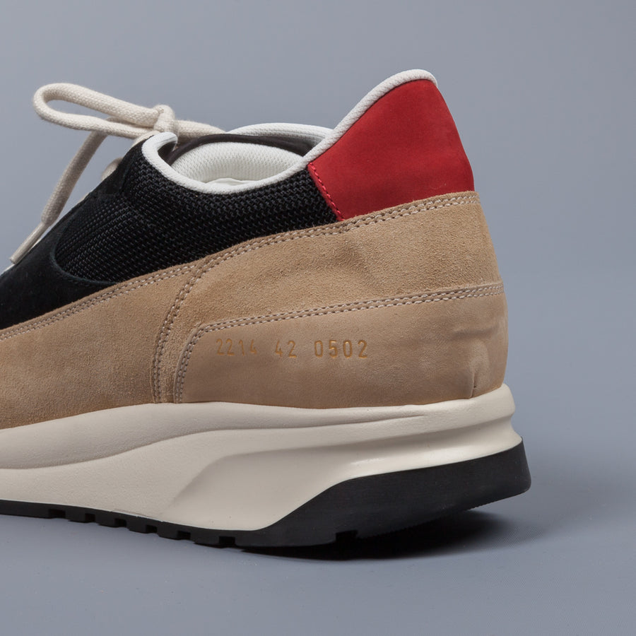 Common Projects Track Classic Black & Tan