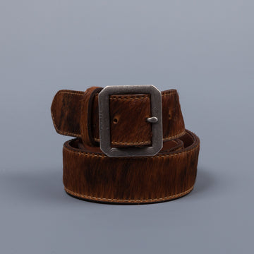 RRL Patterson Haircalf Belt