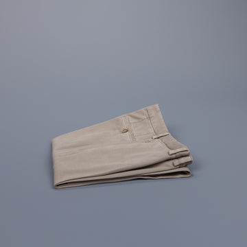 Incotex Carrot Fit Piquettino pants Beige Chiaro