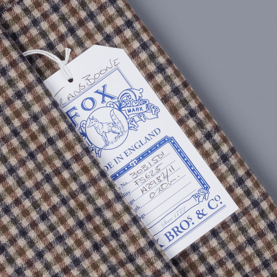Fox Flannel x Frans Boone Fine Cloth Gun Club Fabric - Robert