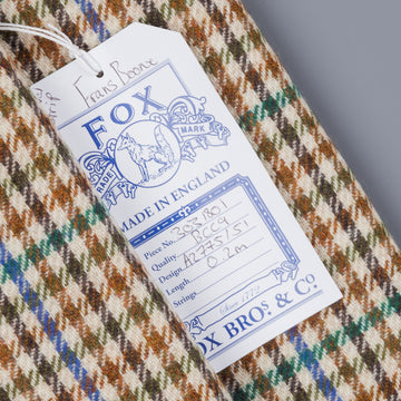 Fox Flannel x Frans Boone Tweed Gun Club Fabric - Henry