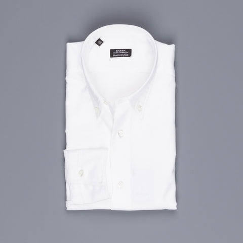 Barba x Frans Boone button down oxford shirt white