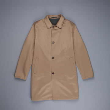 Kired Peak Reversible Coat Beige Scuro - Verde Scuro