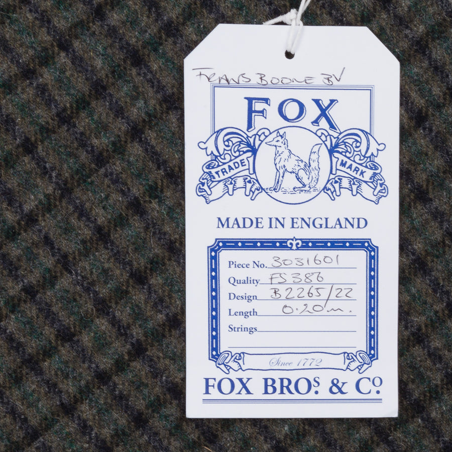 Fox Flannel x Frans Boone Proper Cloth Gun Club Fabric - Gregory