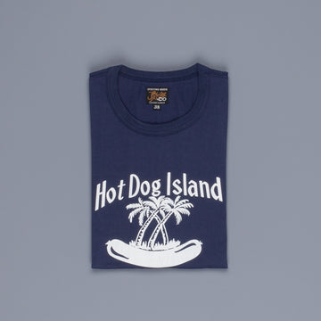 The Real McCoy's Joe McCoy Tee Hotdog Island Navy
