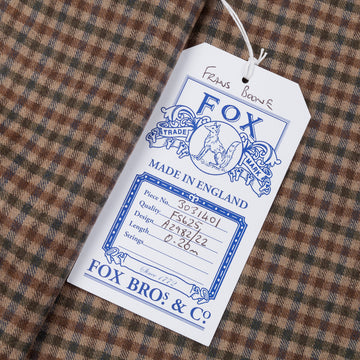 Fox Flannel x Frans Boone Fine Cloth Gun Club Fabric - Clark