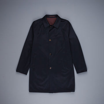 Kired Peak Reversible Coat Blu Notte - Castagna
