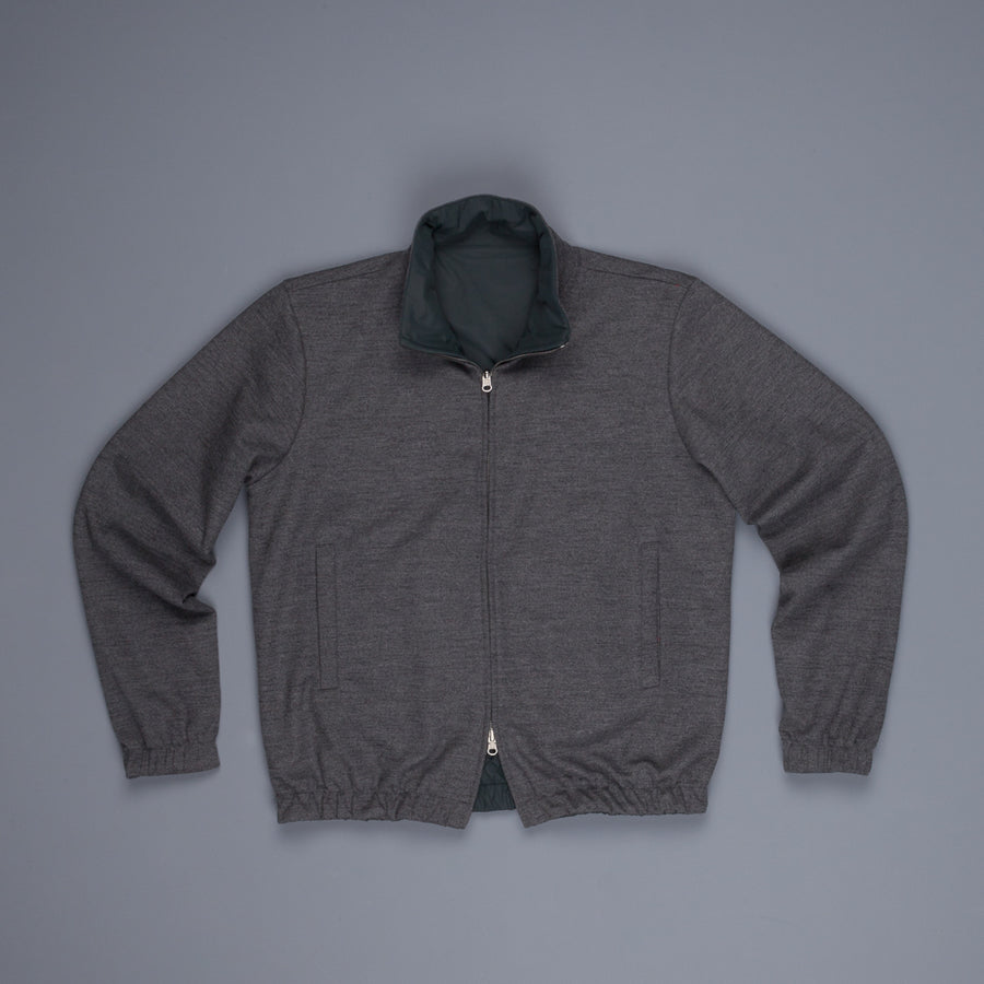 Frans Boone Reversible Jacket Olive Antracite