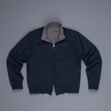 Frans Boone Reversible Jacket Navy Grey