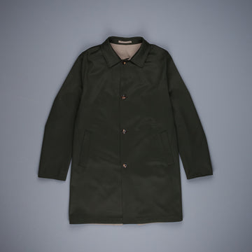 Kired Peak Reversible Coat Verde Scuro - Grigio Medio