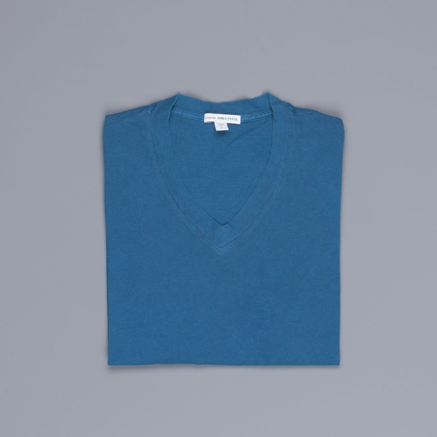 James Perse V neck tee Sterling Pigment
