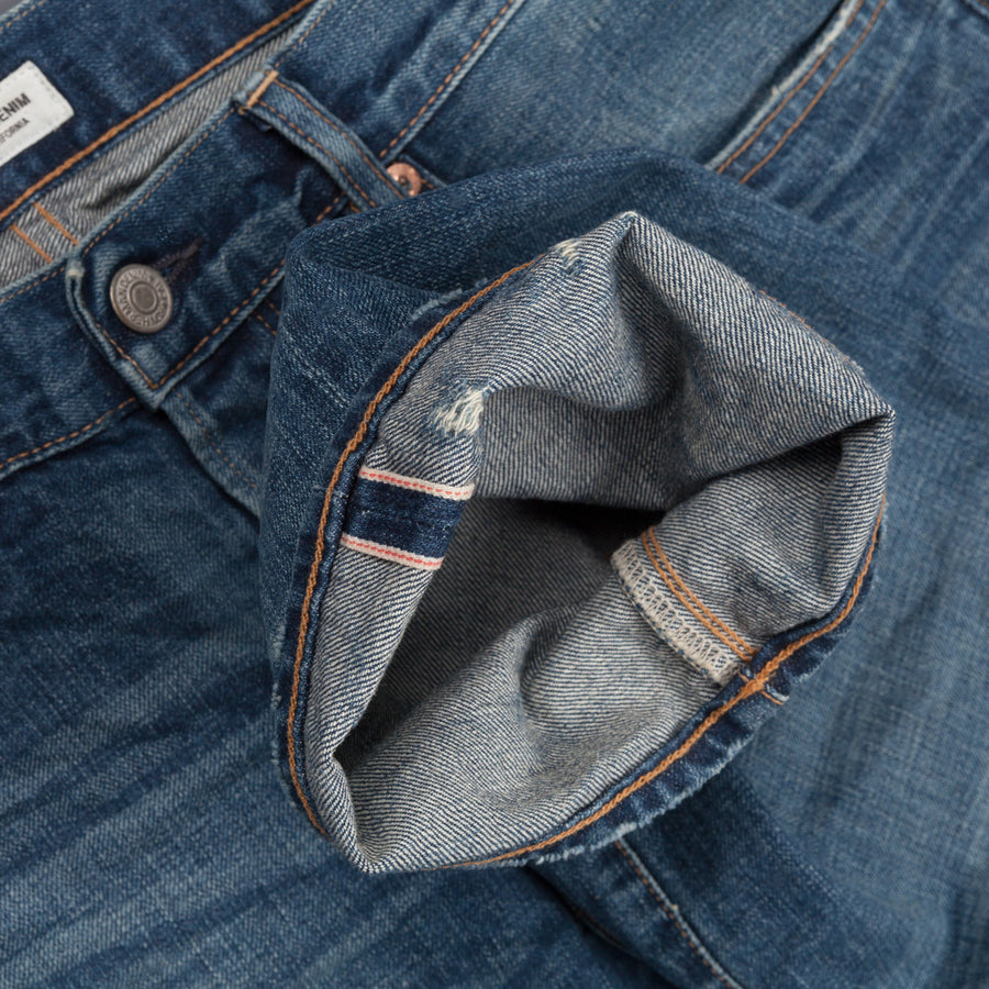 Ron Herman Denim model 02 Vintage Bandana