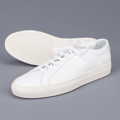 Common Projects Original achilles low Limited edition White