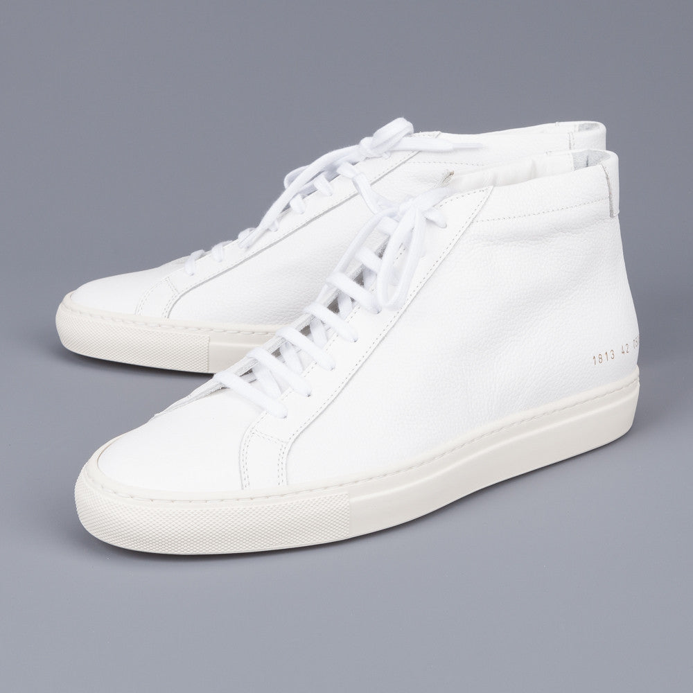 common projects original achilles mid 1813 limited edition white frans boone store. Black Bedroom Furniture Sets. Home Design Ideas